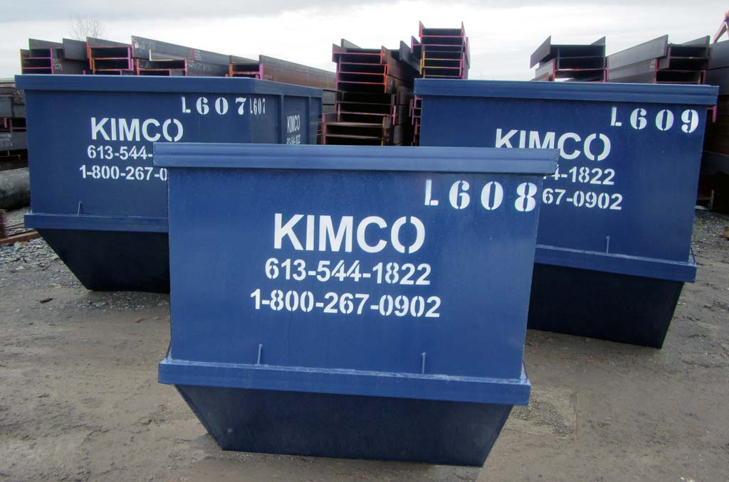 Scrap containers | Kimco Steel Sales